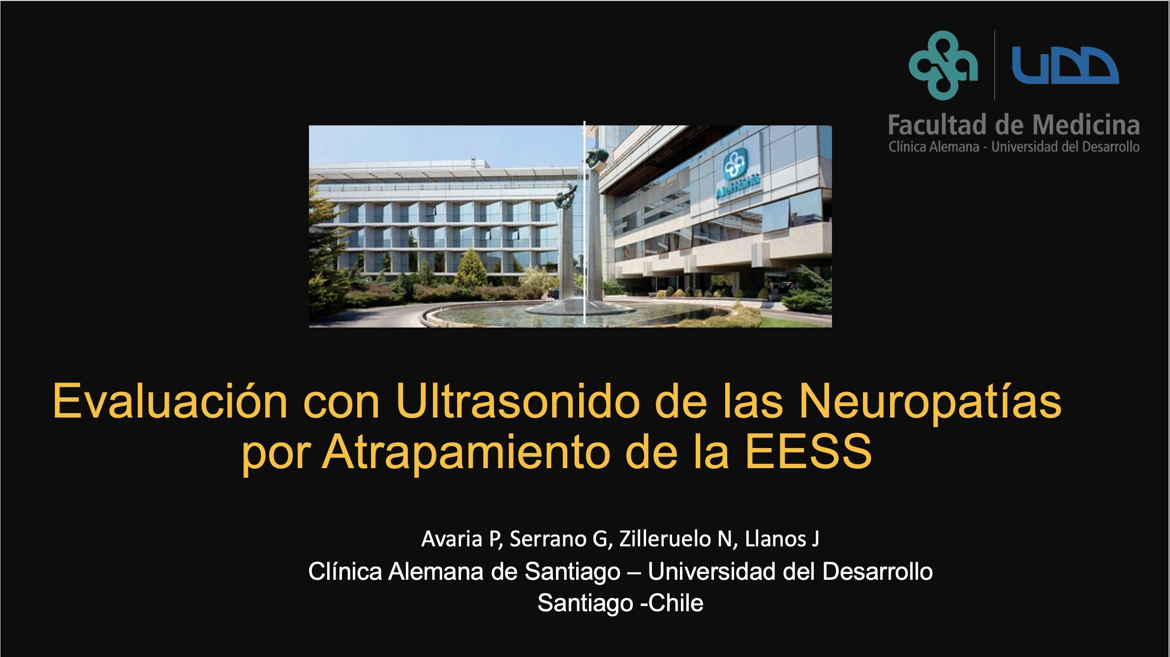 Evaluación con Ultrasonido de las Neuropatías por Atrapamiento de la EESS