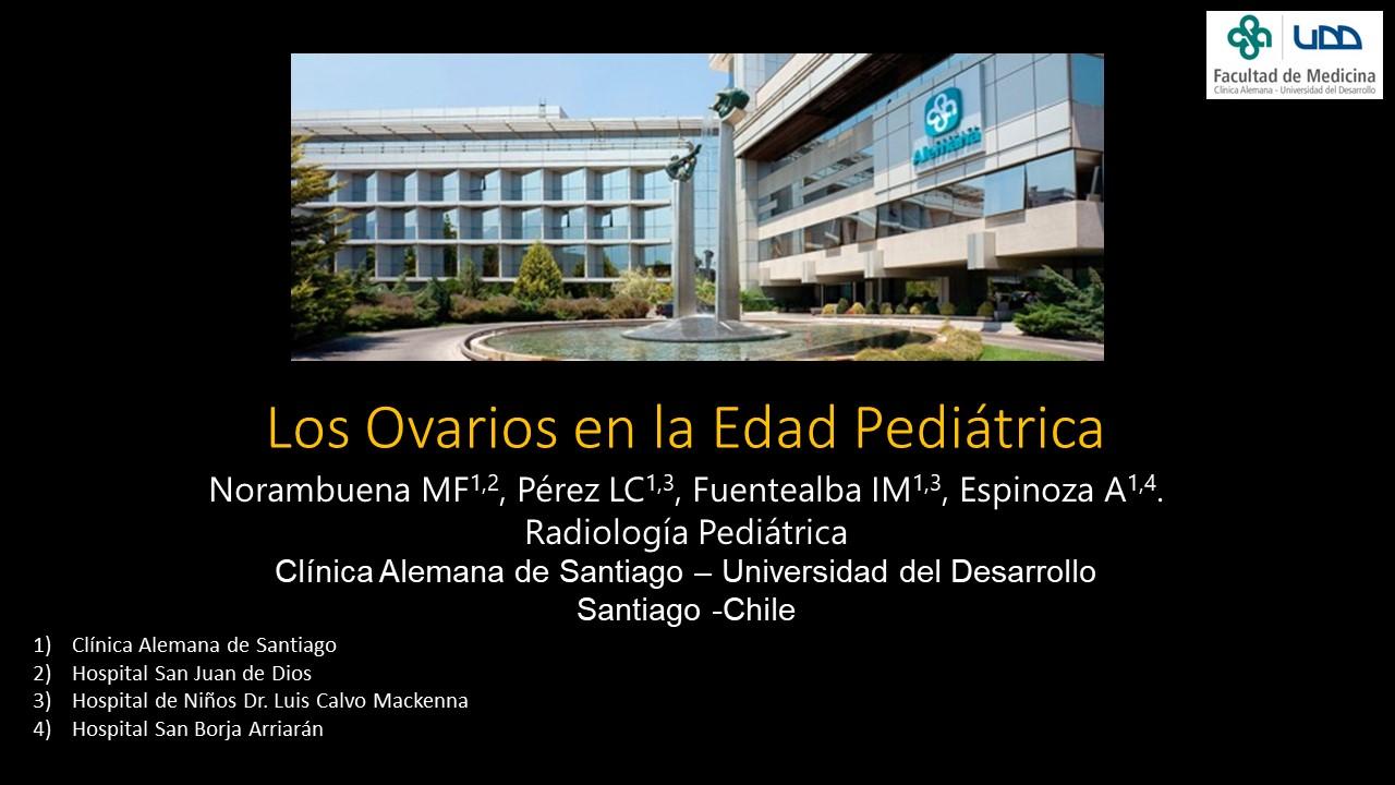 «Los Ovarios en la Edad Pediátrica»